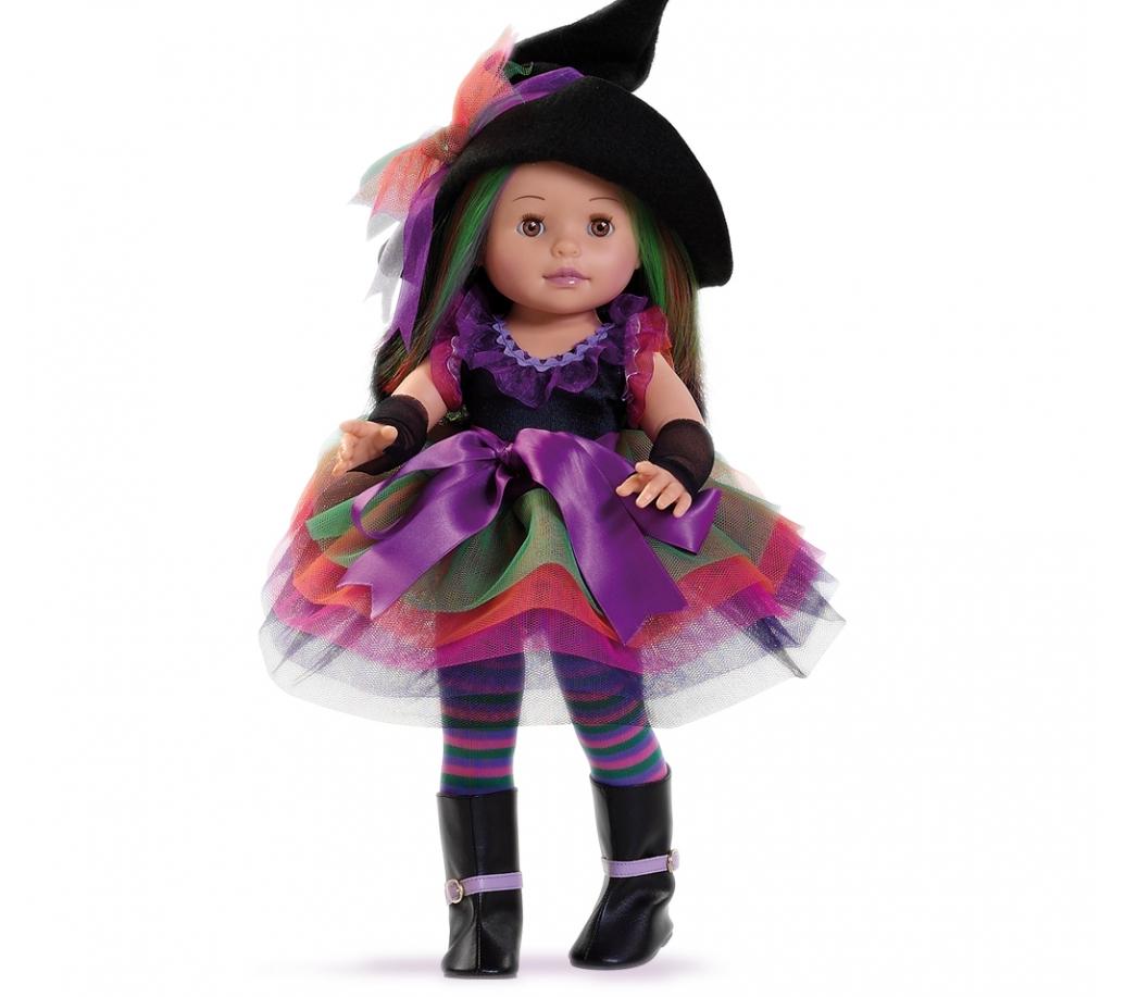 Кукла Сой Ту - Ведьмочка, 42 см.Испанские куклы Paola Reina (Паола Рейна)<br>Кукла Сой Ту - Ведьмочка, 42 см.<br>