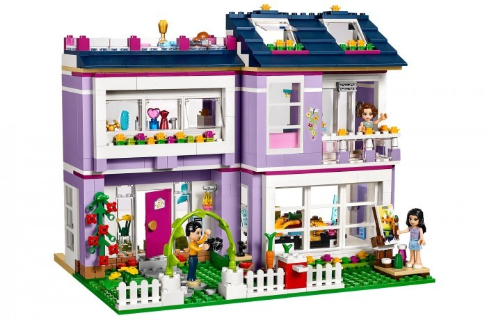 Lego Friends. Дом Эммы