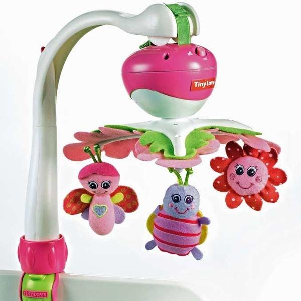 Универсальный музыкальный мобиль Tiny Love МОЯ ПРИНЦЕССАМобили и музыкальные карусели на кроватку, игрушки для сна<br>Универсальный музыкальный мобиль Tiny Love МОЯ ПРИНЦЕССА<br>