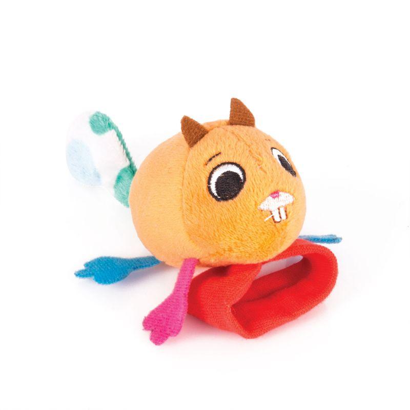 Купить Игрушка-погремушка на ручку Бельчонок Хруми, Happy Snail