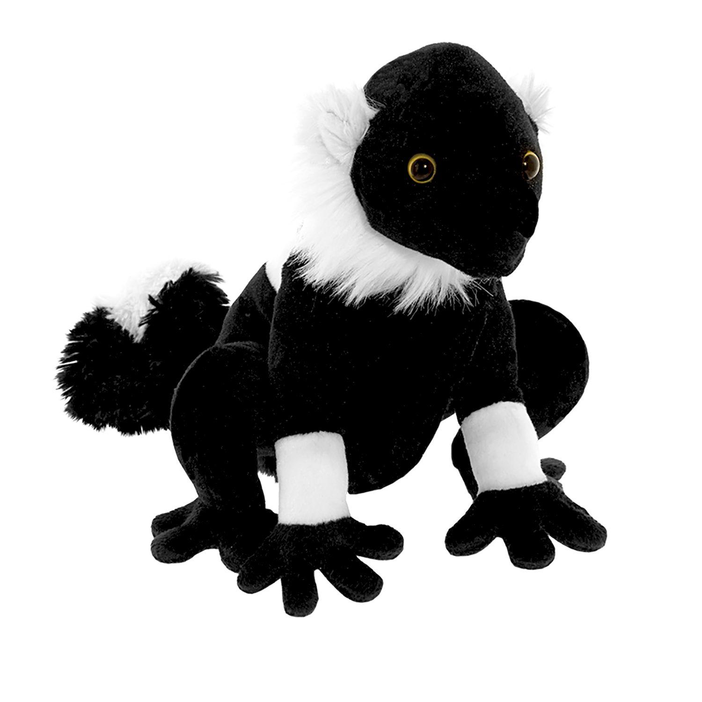 Мягкая игрушка - Черный лемур, 20 см
