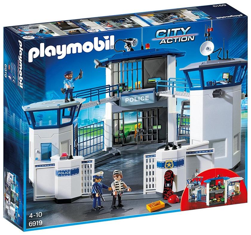 Купить Игровой набор из серии Полиция: Штаб Полиции с Тюрьмой, Playmobil