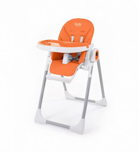 Стульчик для кормления Nuovita Grande, цвет - Arancione/ОранжевыйСтульчики для кормления<br>Стульчик для кормления Nuovita Grande, цвет - Arancione/Оранжевый<br>