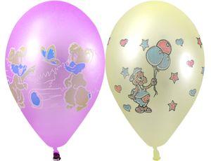 Воздушные шары, неон с рисунком 10 штукВоздушные шары<br>Воздушные шары, неон с рисунком 10 штук<br>