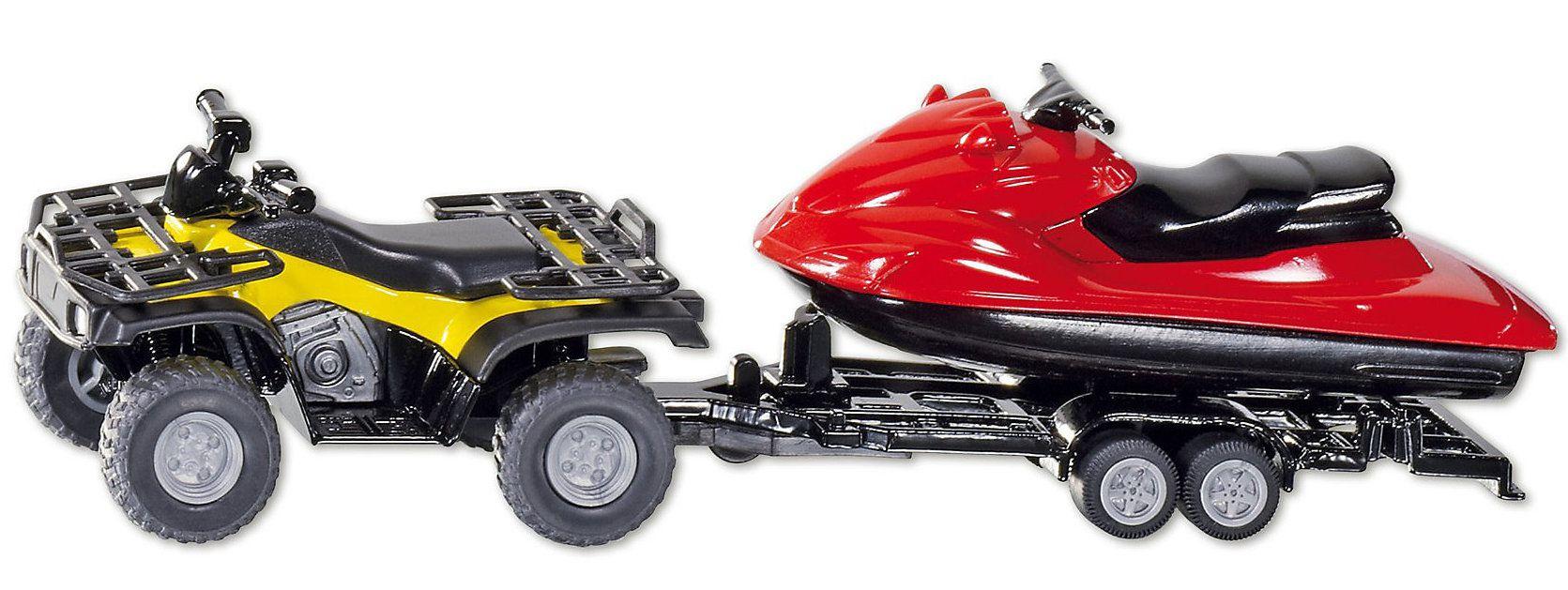 Купить Игровая модель Квадроцикл с катером, Siku