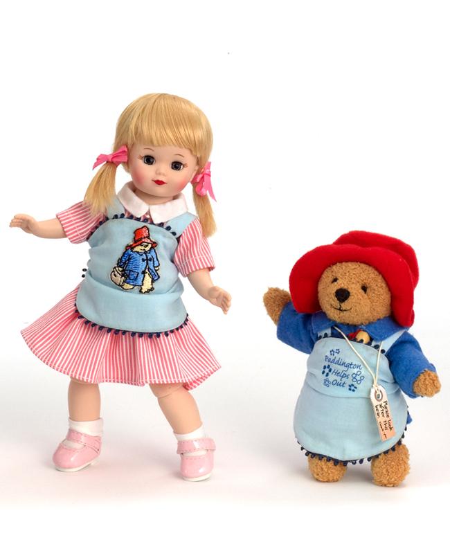 Кукла - Мэри и медвежонок Паддингтон, 20 смКуклы Madame Alexander<br>Кукла - Мэри и медвежонок Паддингтон, 20 см<br>