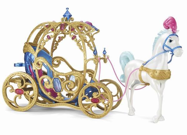 Большой набор - Лошадь с каретой для ЗолушкиЗолушка<br>Большой набор - Лошадь с каретой для Золушки<br>