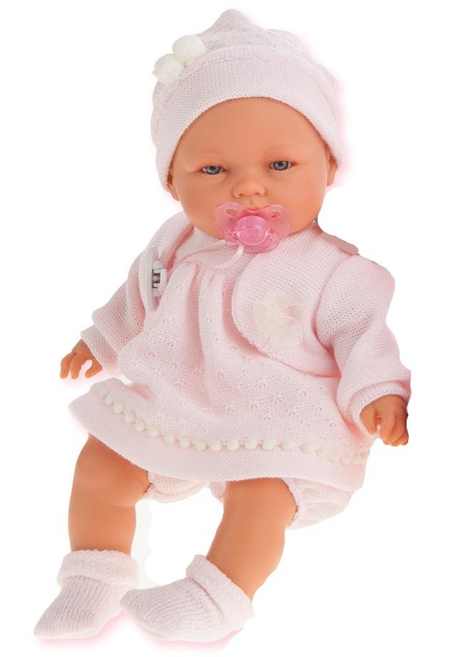 Кукла Соня в розовом, плачет, 37 смКуклы Антонио Хуан (Antonio Juan Munecas)<br>Кукла Соня в розовом, плачет, 37 см<br>