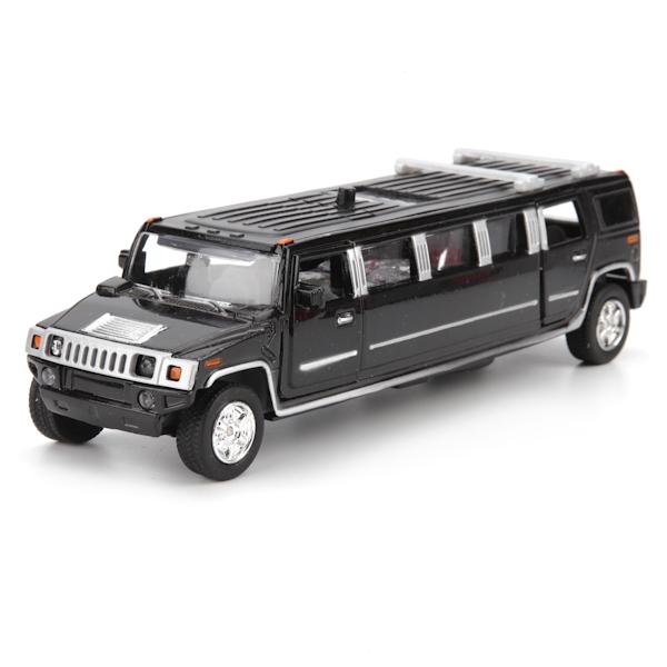 Купить Инерционная машина металлическая Лимузин, свет-звук 1:43, Технопарк