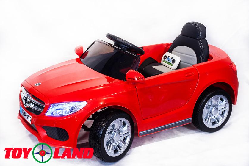 Электромобиль Mercedes MB красный