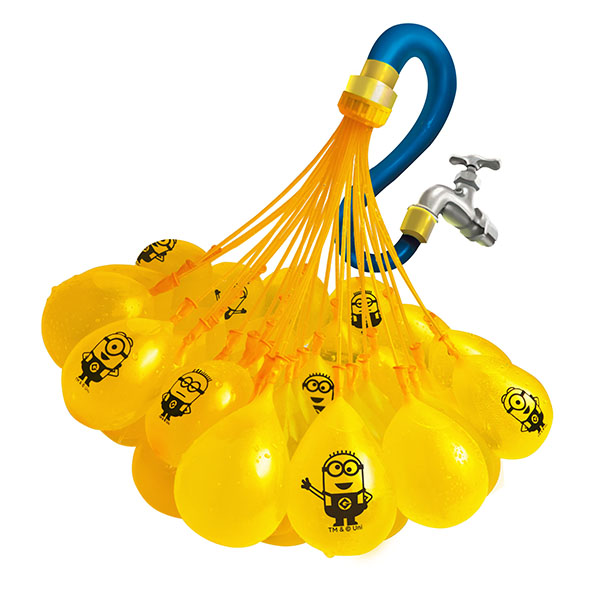 Шары Bunch O Balloons, стартовый набор – Миньоны, 100 шаровШары Bunch O Ballons<br>Шары Bunch O Balloons, стартовый набор – Миньоны, 100 шаров<br>