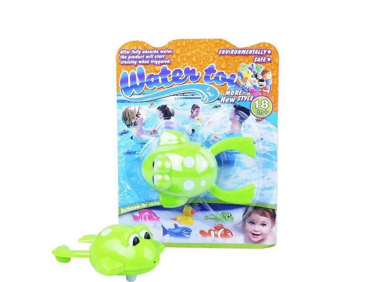 Лягушка заводная для ваннойЗаводные игрушки<br>Лягушка заводная для ванной<br>