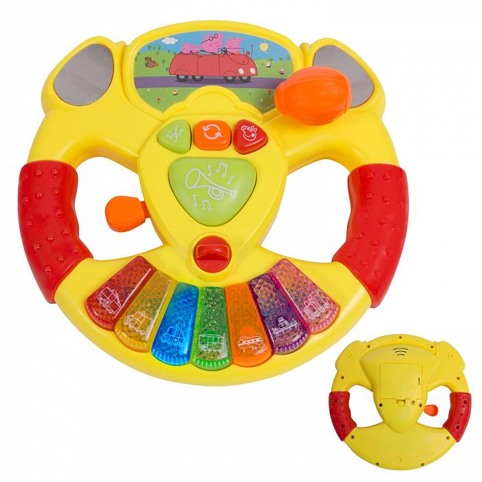 Купить Музыкальный руль Peppa Pig™, Росмэн