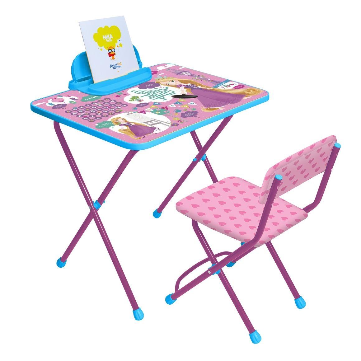 Набор детской мебели в стиле РапунцельИгровые столы и стулья<br>Набор детской мебели в стиле Рапунцель<br>