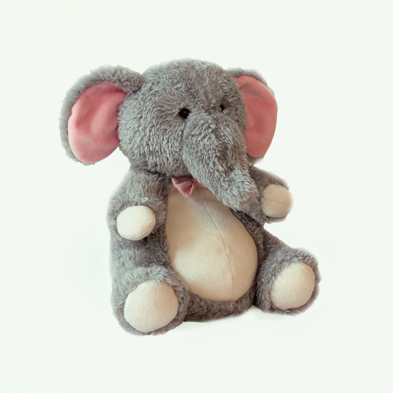 Мягкая игрушка – Слоник Хьюго, 25 см.Животные<br>Мягкая игрушка – Слоник Хьюго, 25 см.<br>