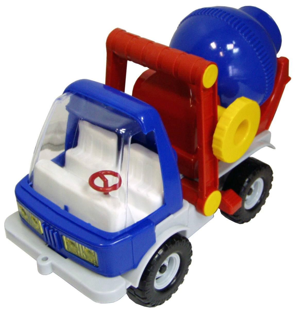 Автомобиль строительный – Бетономешалка, 30 смБетономешалки, строительная техника<br>Автомобиль строительный – Бетономешалка, 30 см<br>