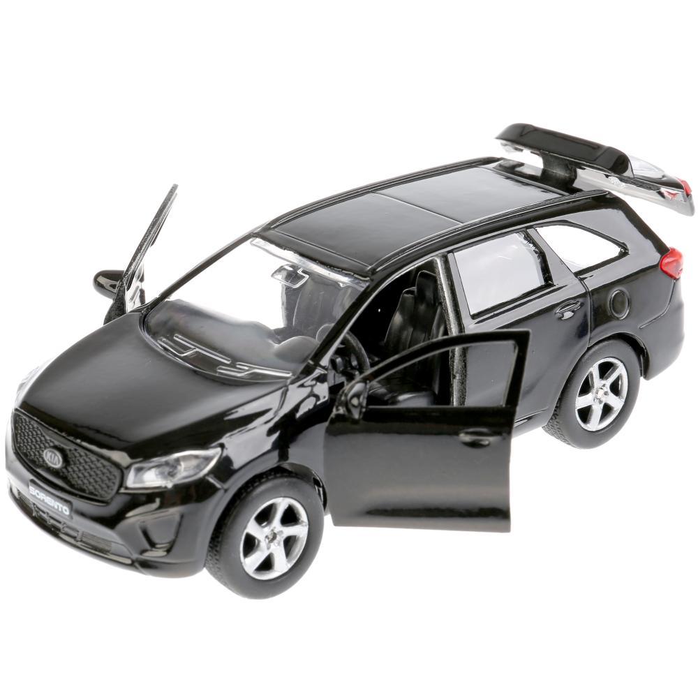 Купить со скидкой Машина металлическая инерционная - Kia Sorento Prime микс, 12 см, открывающиеся двери -WB)