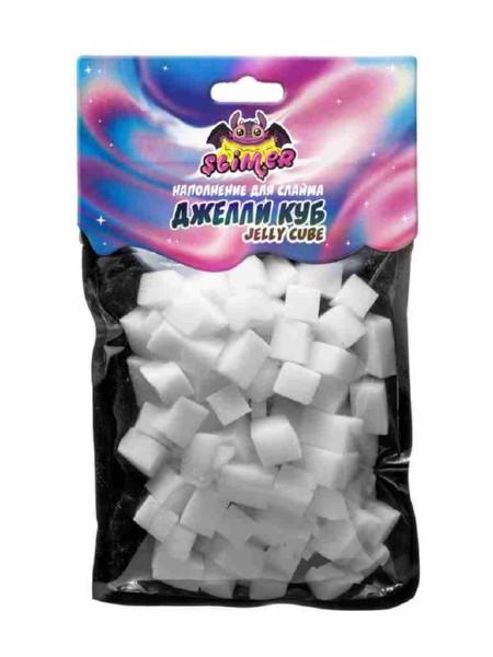 Купить Наполнение для слайма ТМ Slimer - Кубики из пены. Джелли Куб Jelly Cube, Волшебный мир