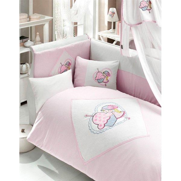 Комплект постельного белья из 3 предметов серия - Cutie PieДетское постельное белье<br>Комплект постельного белья из 3 предметов серия - Cutie Pie<br>
