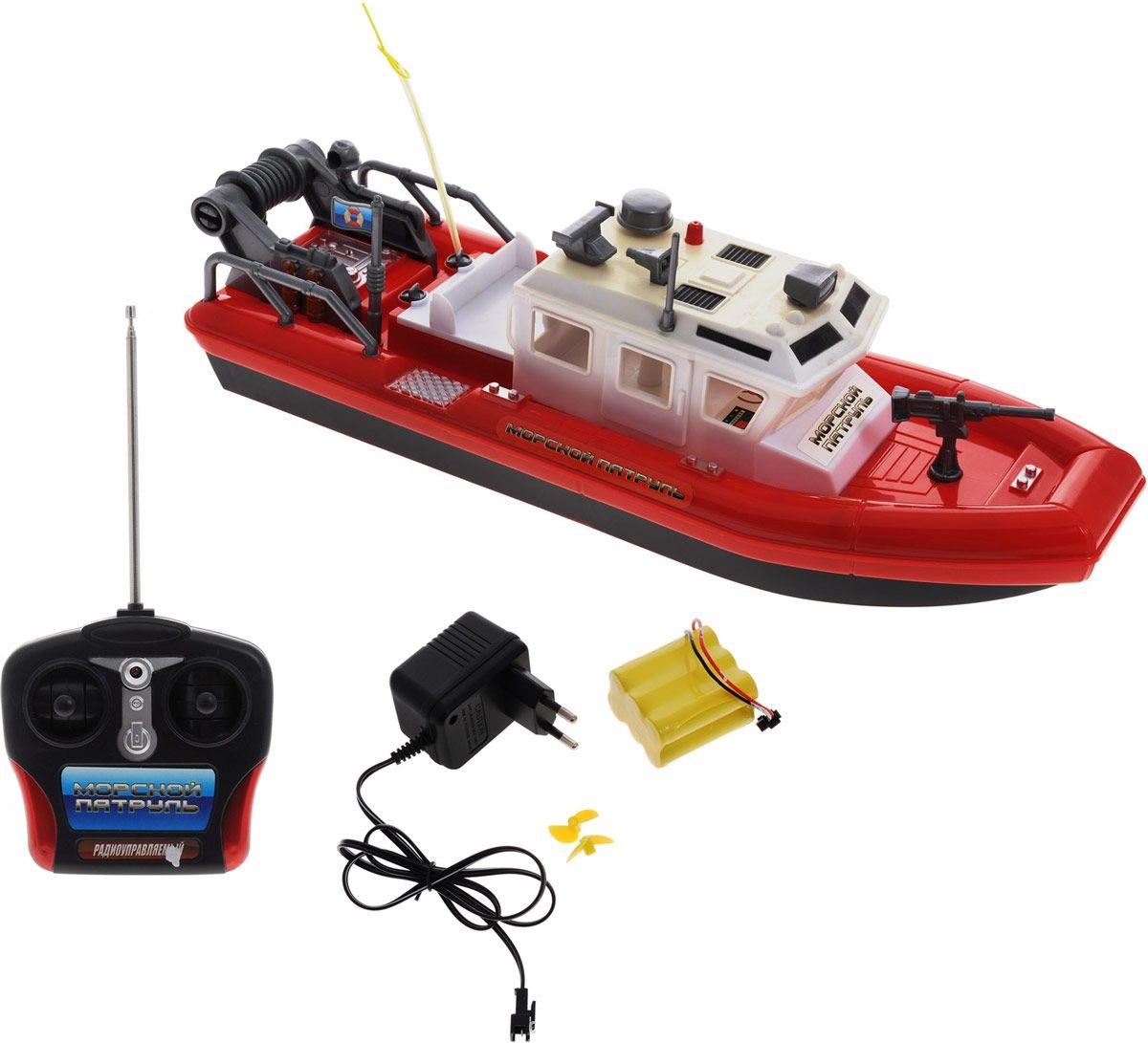 Катер на радиоуправлении «Морской Патруль» от Toyway