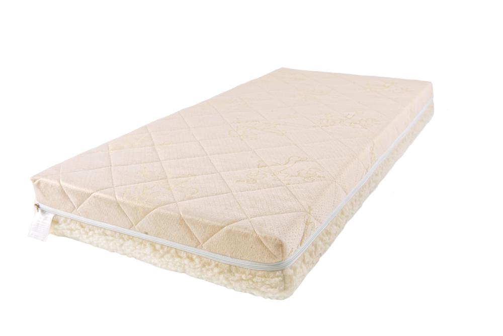 Купить Детский матрас класса Люкс BabySleep - BioForm Cotton, 125 х 65