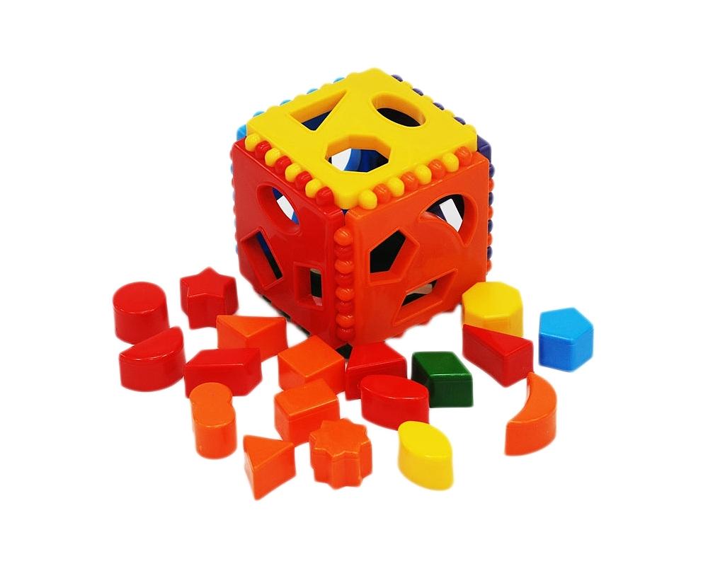 Развивающая игрушка – Куб логическийСортеры, пирамидки<br>Развивающая игрушка – Куб логический<br>