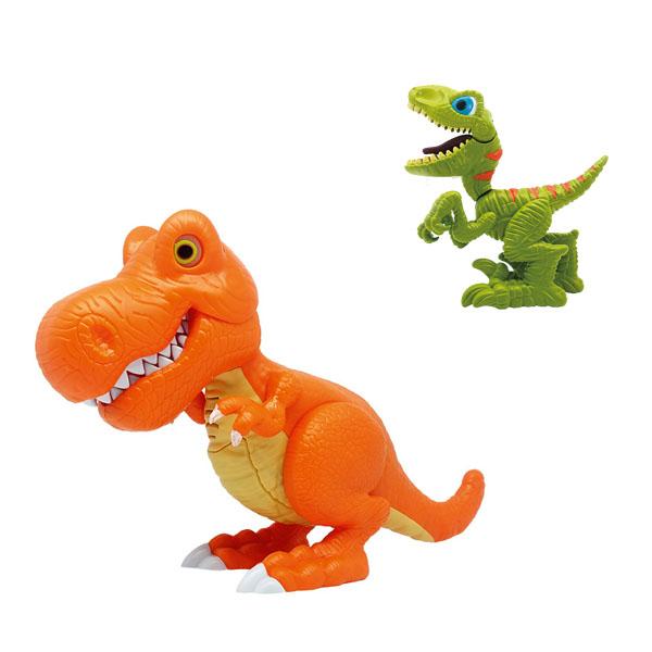 Два динозавра со световыми и звуковыми эффектами - Интерактивные животные, артикул: 166983
