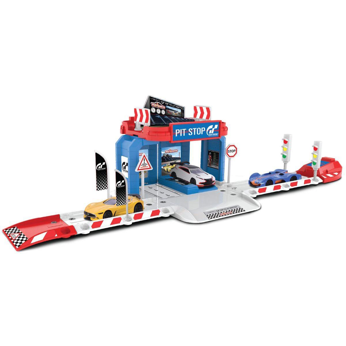 Парковка базовая Creatix Gran Turismo с машинкой - Детские парковки и гаражи, артикул: 170623