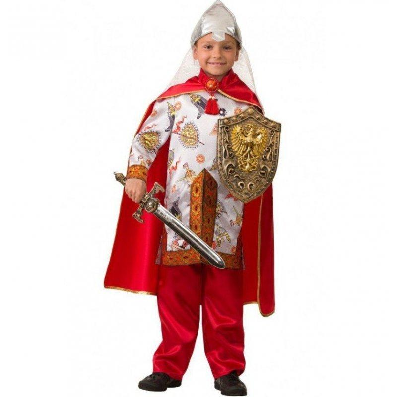 Купить Карнавальный костюм из серии Сказочная страна – Богатырь сказочный, размер 134-68, Батик
