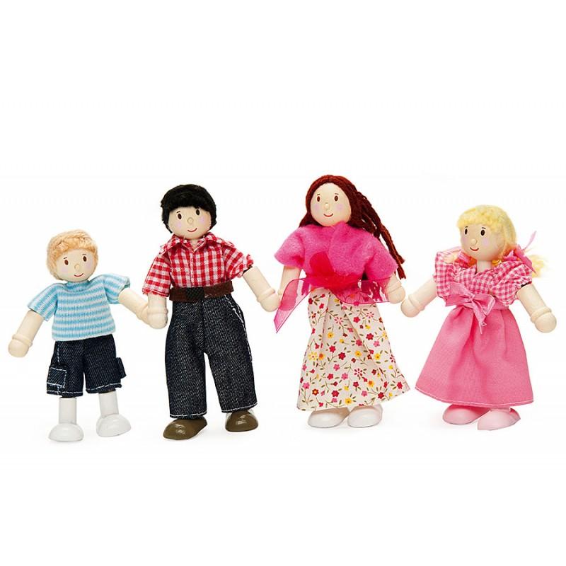 Куклы в наборе «Моя семья»Кукольные домики<br>Куклы в наборе «Моя семья»<br>