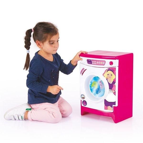 Купить Игрушечная стиральная машинка с аксессуарами, звук, Dolu