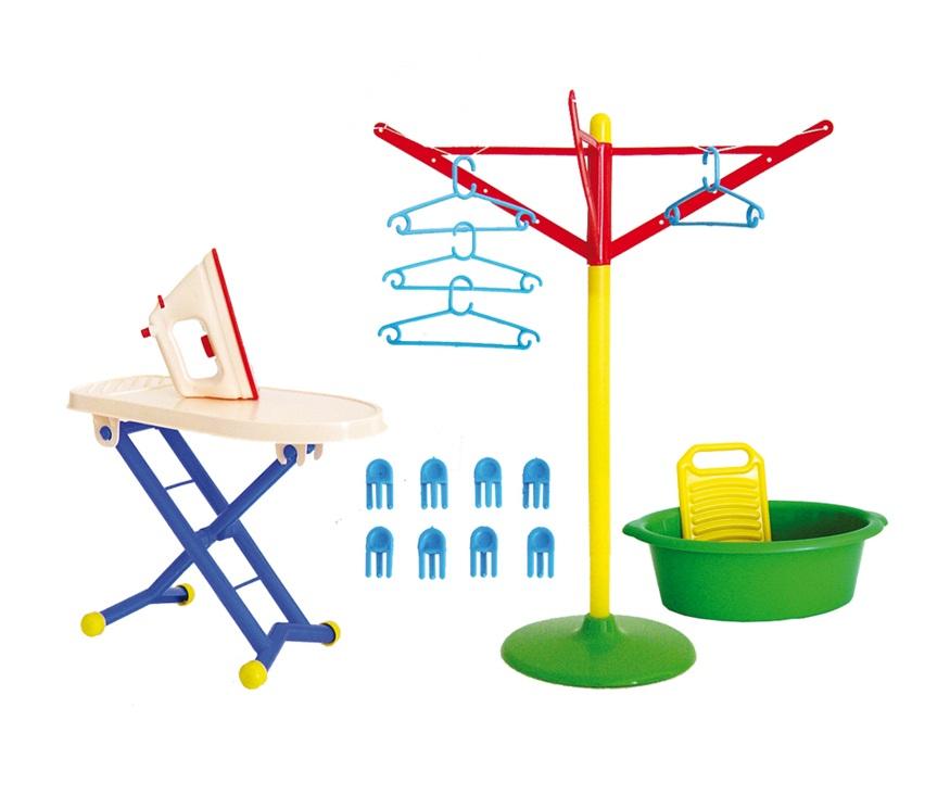 Игровой набор - Золушка №3Уборка дома, стирка, глажка<br>Игровой набор - Золушка №3<br>