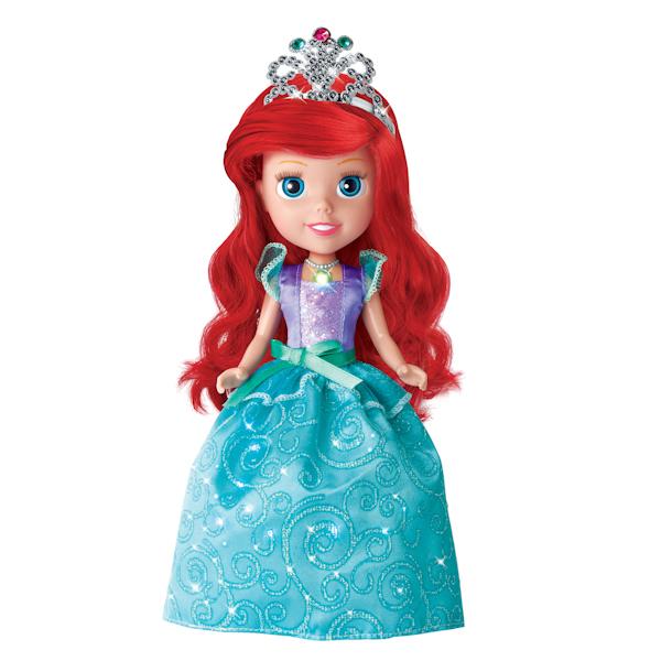 Озвученная кукла Disney Принцесса « Ариэль» 25 см, со светящимся амулетомКуклы Карапуз<br>Озвученная кукла Disney Принцесса « Ариэль» 25 см, со светящимся амулетом<br>
