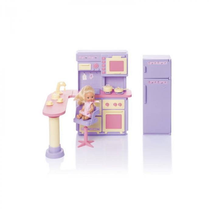 Купить Кухня Маленькая принцесса, сиреневая, Огонек