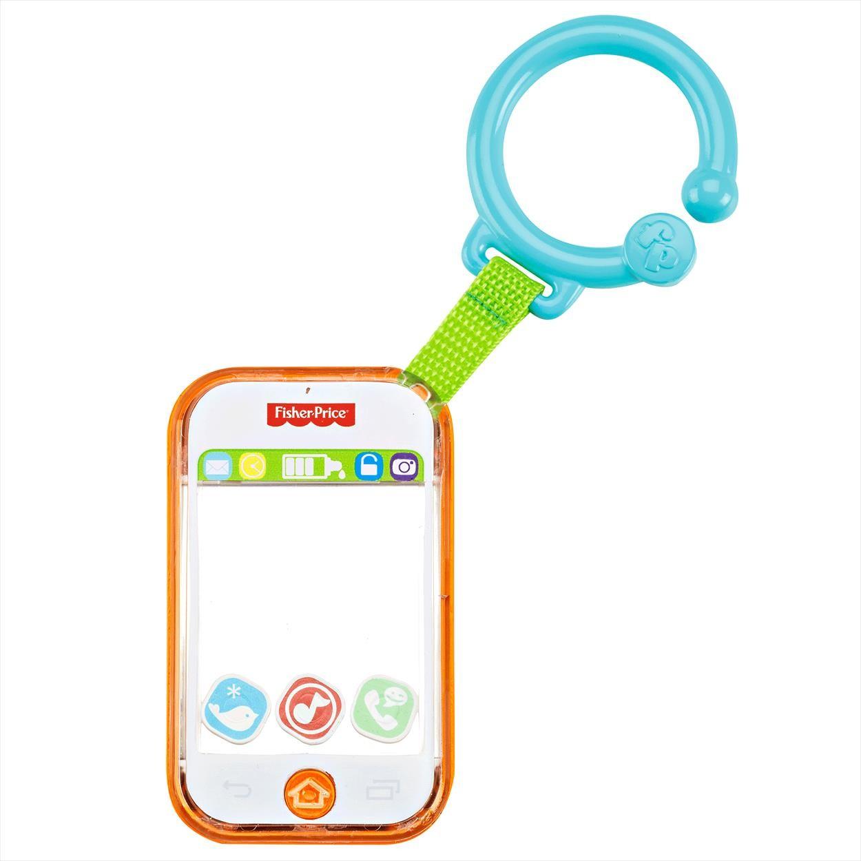 Телефон музыкальныйРазвивающие игрушки Fisher-Price<br>Телефон музыкальный<br>