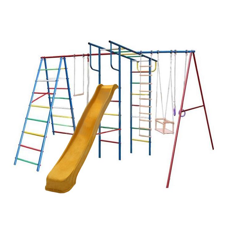 Купить Детский спортивный комплекс Вертикаль-А+П дачный Макси с горкой 3, 0 м