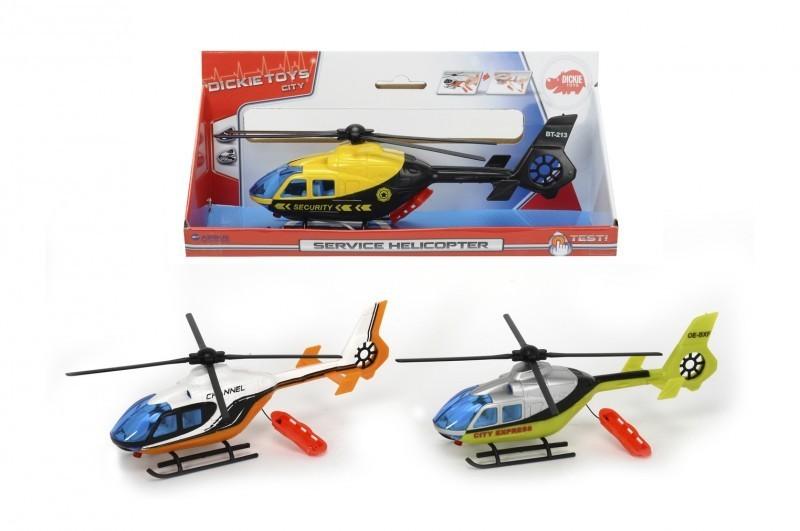 Вертолет с носилками, 3 вида, 24 см.Вертолеты<br>Вертолет с носилками, 3 вида, 24 см.<br>