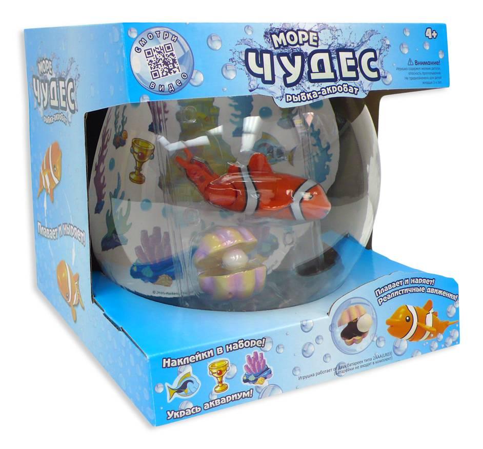 Игровой набор – рыбка-акробат с аксессуарамиИгрушки для ванной<br>Игровой набор – рыбка-акробат с аксессуарами<br>