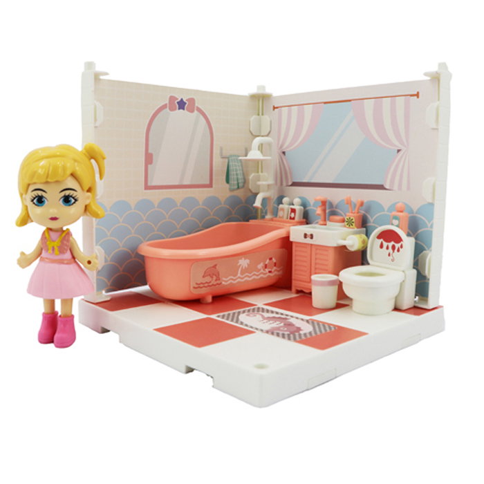 Купить Игровой набор - Милый уголок - Ванная комната, Funky Toys