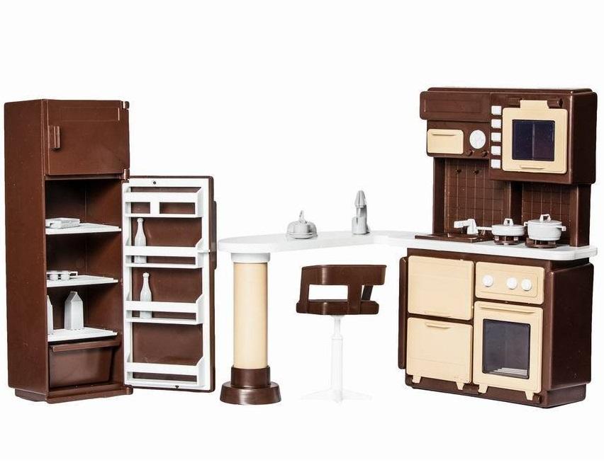 Игровой набор мебели для кухни Огонек