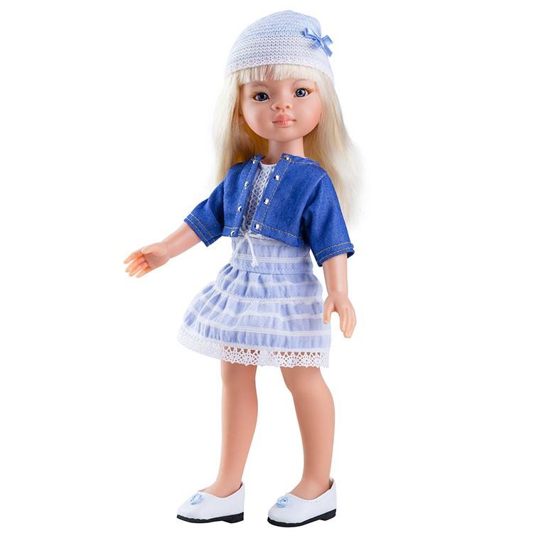 Кукла Маника, 32 см.Испанские куклы Paola Reina (Паола Рейна)<br>Кукла Маника, 32 см.<br>