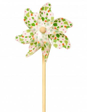 Ветрячок – Цветы, 48 см, белый