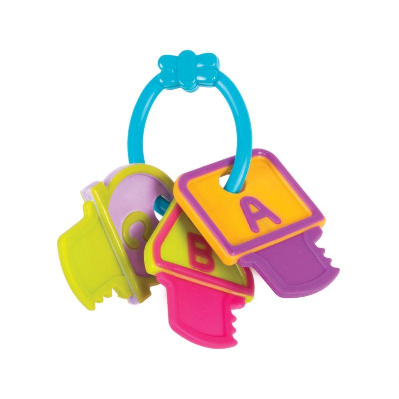 Купить Погремушка – Ключи, на колечке, Happy Snail