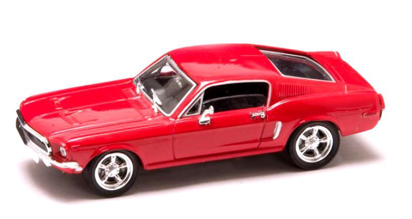 Коллекционный автомобиль - Мустанг, образца 1968 года, масштаб 1/43, серия ПремиумВинтажные модели<br>Коллекционный автомобиль - Мустанг, образца 1968 года, масштаб 1/43, серия Премиум<br>