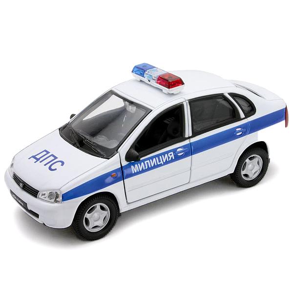 Модель машины Lada Kalina Милиция ДПСПолицейские машины<br>Модель машины Lada Kalina Милиция ДПС<br>