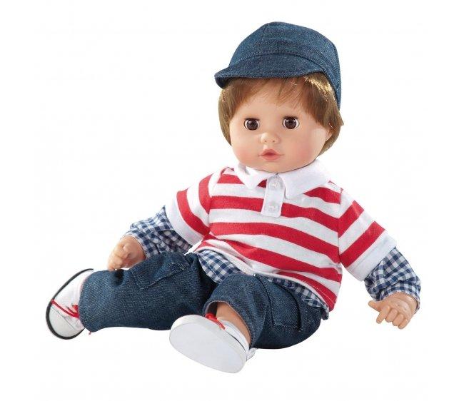 Купить Кукла - Маффин, шатен в джинсах, Gotz