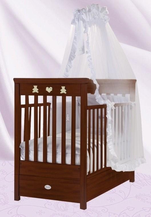 Кровать детская Fms Elite Noce ScuroДетские кровати и мягкая мебель<br>Кровать детская Fms Elite Noce Scuro<br>