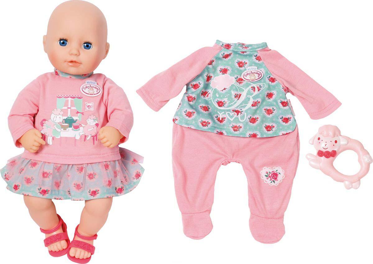 Купить Кукла с дополнительным набором одежды - My first Baby Annabell, 36 см, Zapf Creation