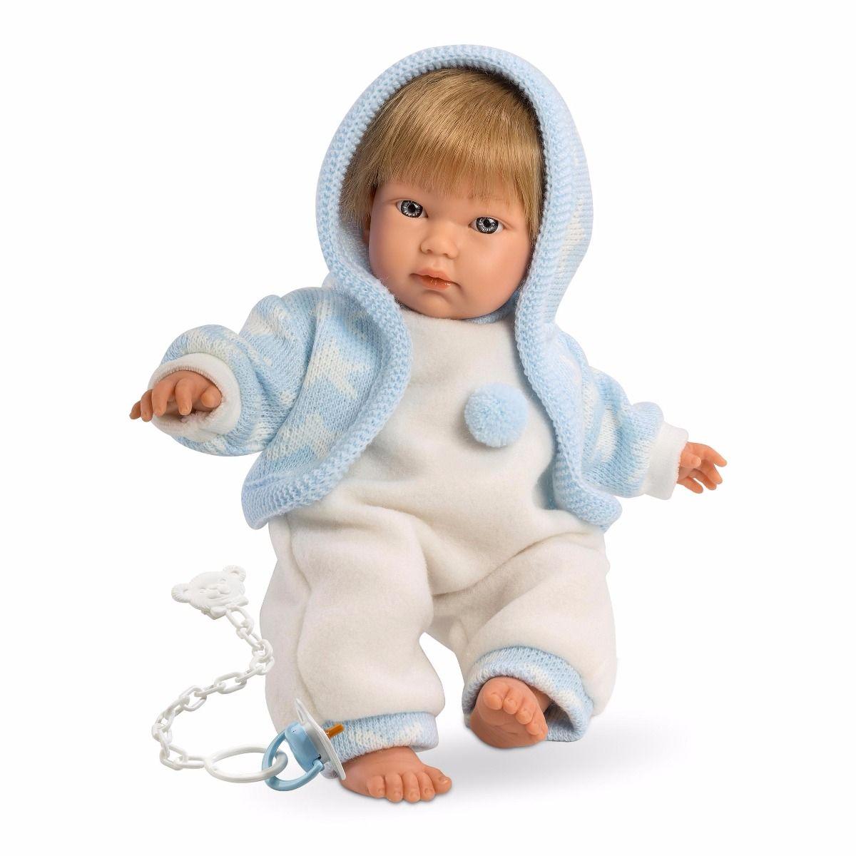 Кукла Кукуй, 30 смИспанские куклы Llorens Juan, S.L.<br>Кукла Кукуй, 30 см<br>