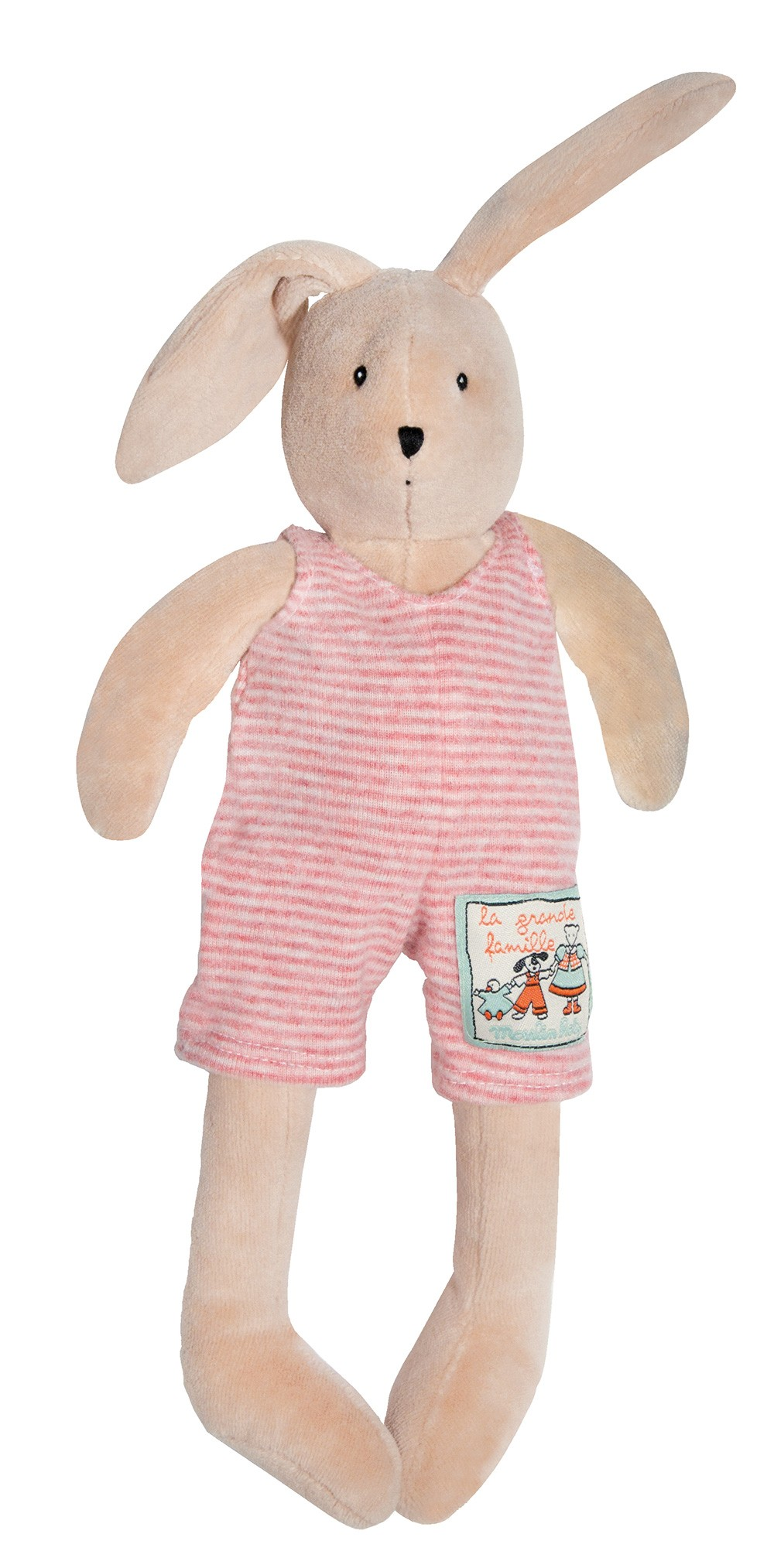 Мягкая игрушка – Кролик Сильвиан. 30 см фото